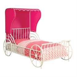 Ellie Metal Carriage Bed