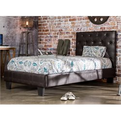 Rochelle Faux Leather Tufted Bed 1
