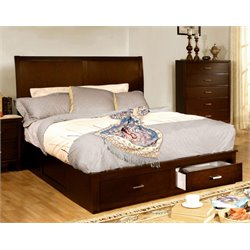 Ruggend Storage Platform Bed