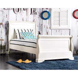 Jeffers Sleigh Bed