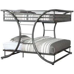 Forle Full over Full Bunk Bed