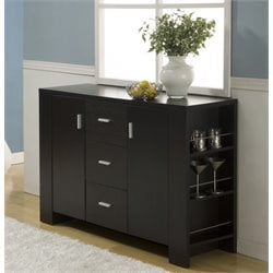 Furniture of America Nathan Modern Buffet in Espresso