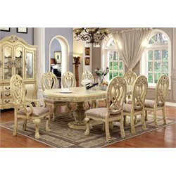Madison Traditional 9 Piece Dining Set