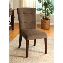 Furniture of America Alvey Dining Chair in Espresso (Set of 2)