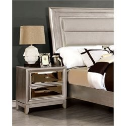 Bettyann 2 Drawer Nightstand