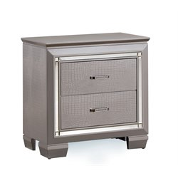 Rachel 2 Drawer Nightstand