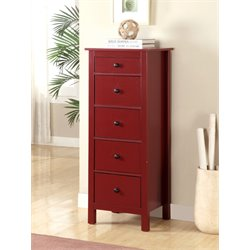 Weller 5 Drawer Accent Chest