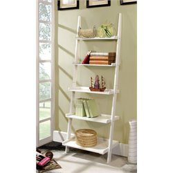 Dupre 5 Shelf Ladder Bookcase