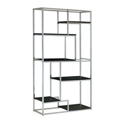 Jan Modern 6 Shelf Bookcase