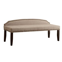 Davos Fabric Bedroom Bench