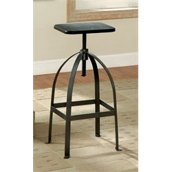 Bohnshack Adjustable Swivel Bar Stool 1