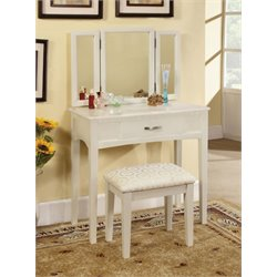 Isabellina Vanity Set with Stool