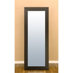Furniture of America Arvidson Floor Mirror in Cappuccino