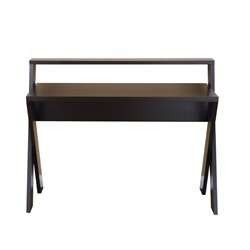 Furniture of America Blanforder Writing Desk in Cappuccino