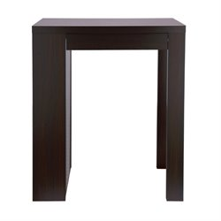 Furniture of America Haughland Pub Table in Cappuccino
