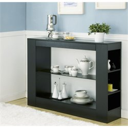 Furniture of America Joliceur Sideboard in Black