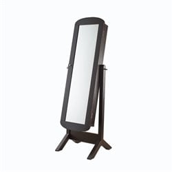 Furniture of America Chuntry Cheval Mirror with Jewerly Storage