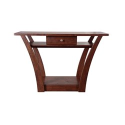 Furniture of America Gentry Contemporary Console Table in Walnut