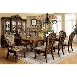 Furniture of America Fruett 9 Piece Dining Set