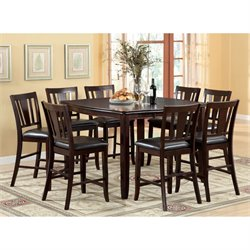 Rosewood 7 Piece Counter Height Dining Set
