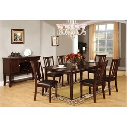 Rosewood 7 Piece Dining Set