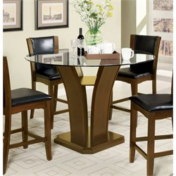 Furniture of America Waverly Counter Height Dining Table