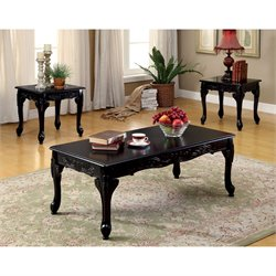 Alice 3 Piece Coffee Table Set