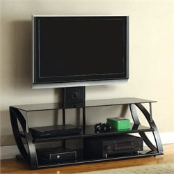 Furniture of America Hilome Wall Mount TV Stand