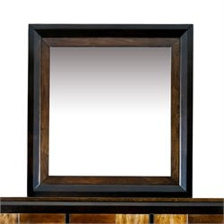 Furniture of America Delia Mirror in Aciacia