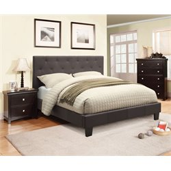 Warscher 3 Piece Bedroom Set in Grey