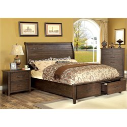 Nuguay 2 Piece Bedroom Set in Espresso