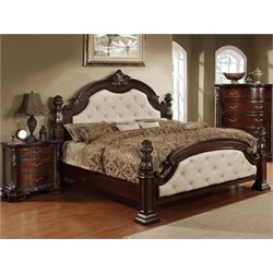 Cathey 2 Piece Bedroom Set in Dark walnut LA