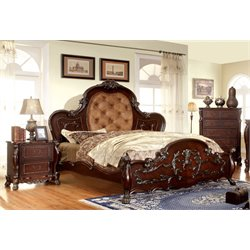 Coppedge 3 Piece Bedroom Set in Cherry