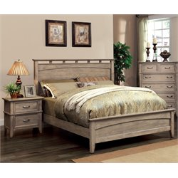 Ackerson 2 Piece Bedroom Set in Weathered oak 7351L