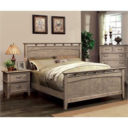 Ackerson 2 Piece Bedroom Set in Weathered oak
