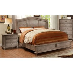Calpa Bed in Rustic Grey