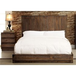 Bellamy 2 Piece Bedroom Set in Rustic natural tone