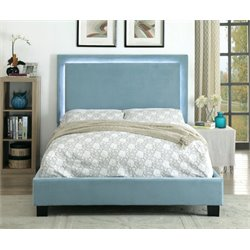 Luna LED Trim Bed in Blue