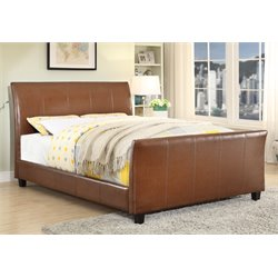 Weston Padded Leatherette Bed