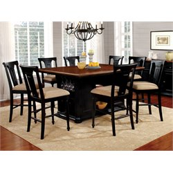 Hendrix 9 Piece Counter Height Dining Set