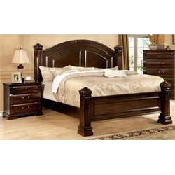 Oulette 2 Piece Bedroom Set in Cherry