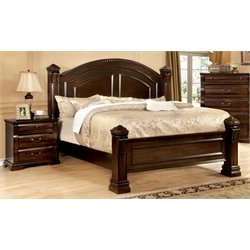 Oulette 3 Piece Bedroom Set in Cherry