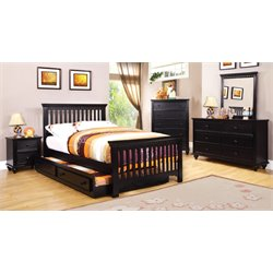 Dresden Etched 4 Piece Twin Bedroom Set