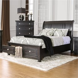 Stillo Bed in Espresso 7381