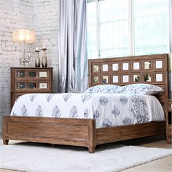 Ezra Bed in Rustic Oak