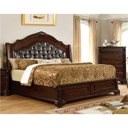 Darnell Bed in Brown Cherry 7671