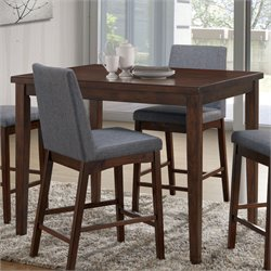 Furniture of America Philomena Counter Height Dining Table