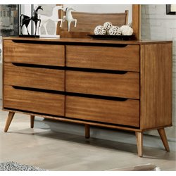Zella 6 Drawer Dresser