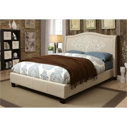 Dania Bed in Gray