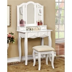 Brooke 2 Piece Kids Vanity Set
